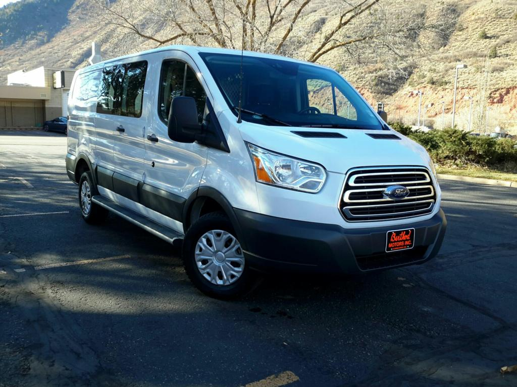 Pre-Owned 2018 Ford Transit Van T-250 Low Roof 60/40 Base